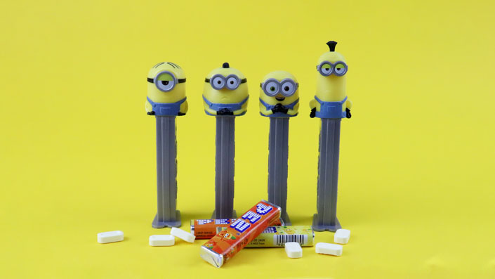 Candy-Cosmos-PEZ-Minions